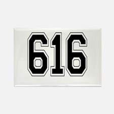 616 Rectangle Magnet