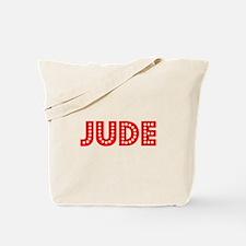Retro Jude (Red) Tote Bag