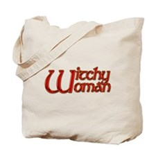 Witchy Woman Citrine Tote Bag