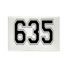 635 Rectangle Magnet