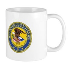 DEPARTMENT-OF-JUSTICE-SEAL Mug
