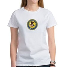 DEPARTMENT-OF-JUSTICE-SEAL Womens T-Shirt