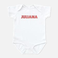 Retro Juliana (Red) Infant Bodysuit