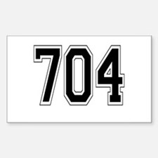 704 Rectangle Decal