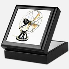 Riyah-Li Designs Vintage Fan Keepsake Box