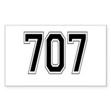 707 Rectangle Decal