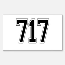 717 Rectangle Decal