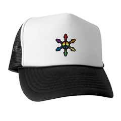 Colorful Peace Trucker Hat
