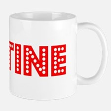 Retro Justine (Red) Mug