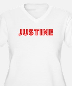 Retro Justine (Red) T-Shirt