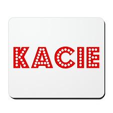 Retro Kacie (Red) Mousepad