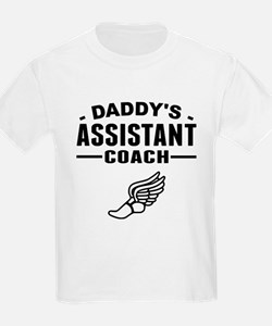 Daddys Assistant Track Coach T-Shirt