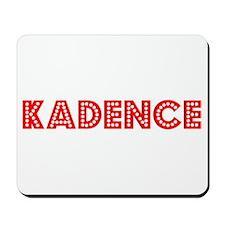 Retro Kadence (Red) Mousepad