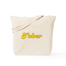 Retro Tuber (Gold) Tote Bag