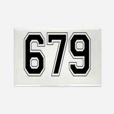 679 Rectangle Magnet