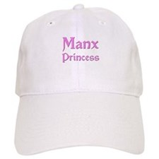 Manx Princess Baseball Cap