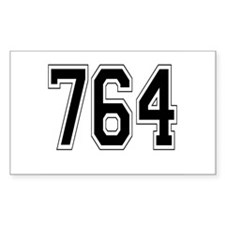 764 Rectangle Decal