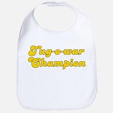 Retro Tug-o-war C.. (Gold) Bib