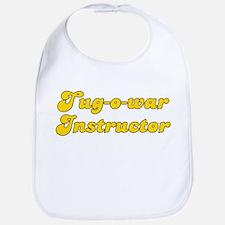 Retro Tug-o-war I.. (Gold) Bib