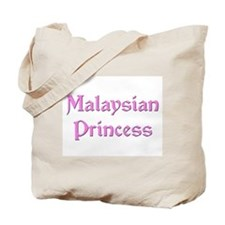 Malaysian Princess Tote Bag
