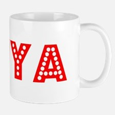 Retro Kaiya (Red) Mug