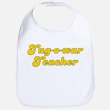 Retro Tug-o-war T.. (Gold) Bib