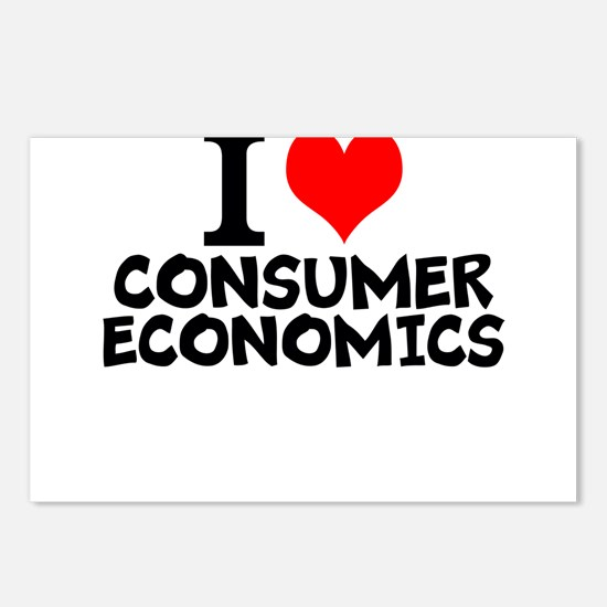 I Love Consumer Economics Postcards (Package of 8)