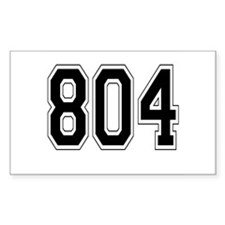 804 Rectangle Decal