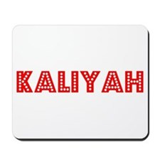 Retro Kaliyah (Red) Mousepad