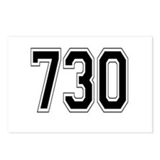 730 Postcards (Package of 8)