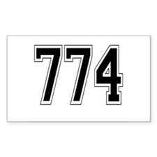774 Rectangle Decal