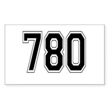 780 Rectangle Decal