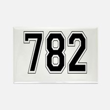 782 Rectangle Magnet