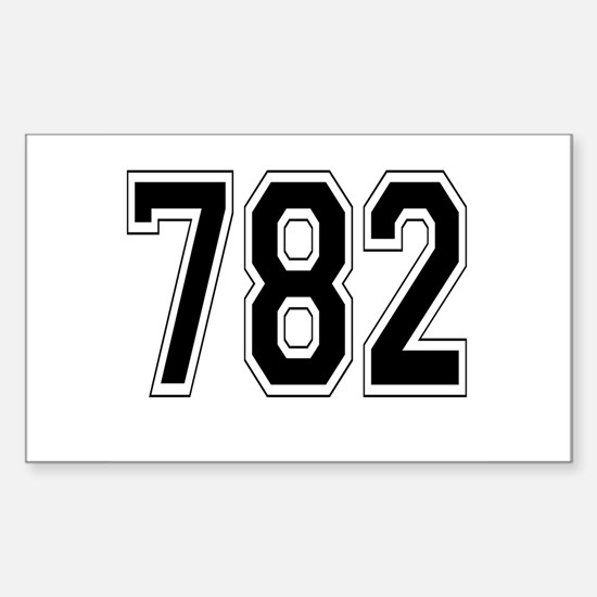 782 Rectangle Decal