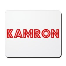 Retro Kamron (Red) Mousepad