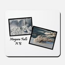 Winter Niagara Falls Mousepad