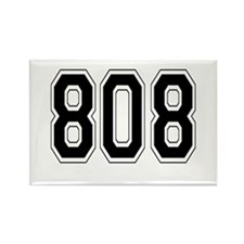 808 Rectangle Magnet