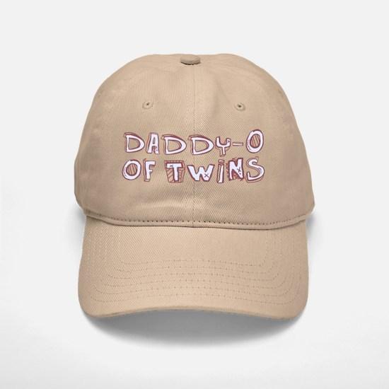 Daddy-O of Twins Baseball Baseball Cap