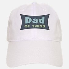 Dad of Twins Baseball Baseball Cap