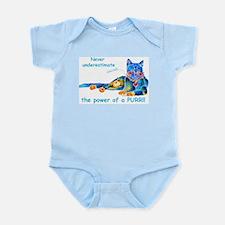 Purr Kitty Infant Bodysuit