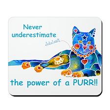 Purr Kitty Mousepad