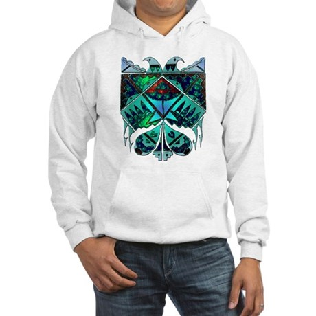 Two Eagles Hooded Sweatshirt