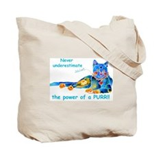 Nine Lives Kitty Tote Bag