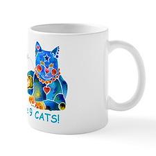 Nine Lives Kitty Mug