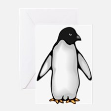 happy penguin Greeting Card