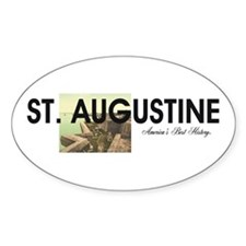St. Augustine Americasbesthistory.c Decal