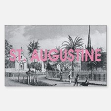 St. Augustine Americasbesthist Sticker (Rectangle)