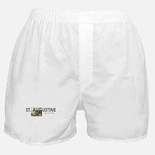 St. Augustine Americasbesthistory.com Boxer Shorts