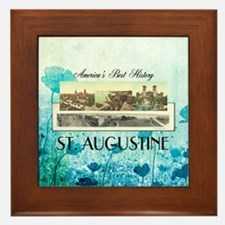 St. Augustine Americasbesthistory.com Framed Tile