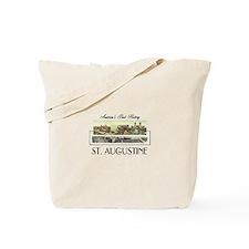 St. Augustine Americasbesthistory.com Tote Bag